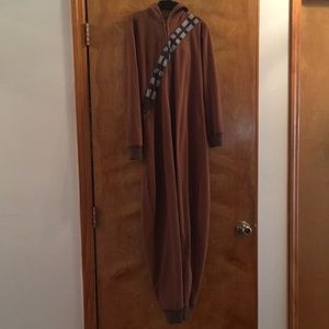 Boys hooded Star Wars Chubaca pajama